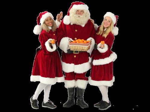 kerstman op bezoek, kerstman huren, kerstman inhuren, bezoek kerstman,
