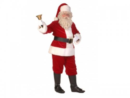 kerstman kostuumverhuur bij het land van de kerstman