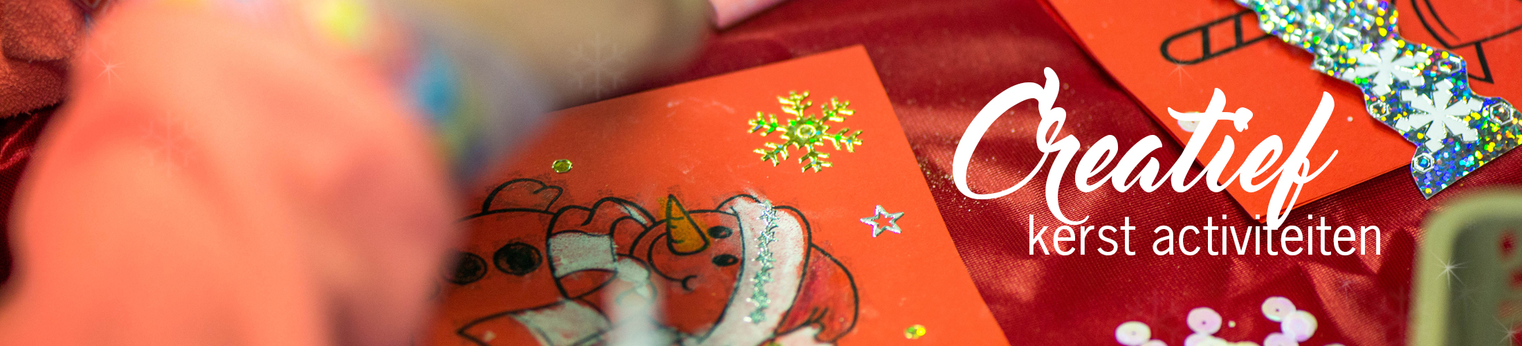 creatief kerst knutselen winkelcentrum festival grote bedrijfsfeesten