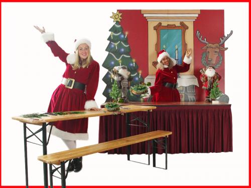 Kerstentertainment, mobiel entertainment, kinder entertainment kerst, winkelcentrumpromotie, muzikaal entertainment,